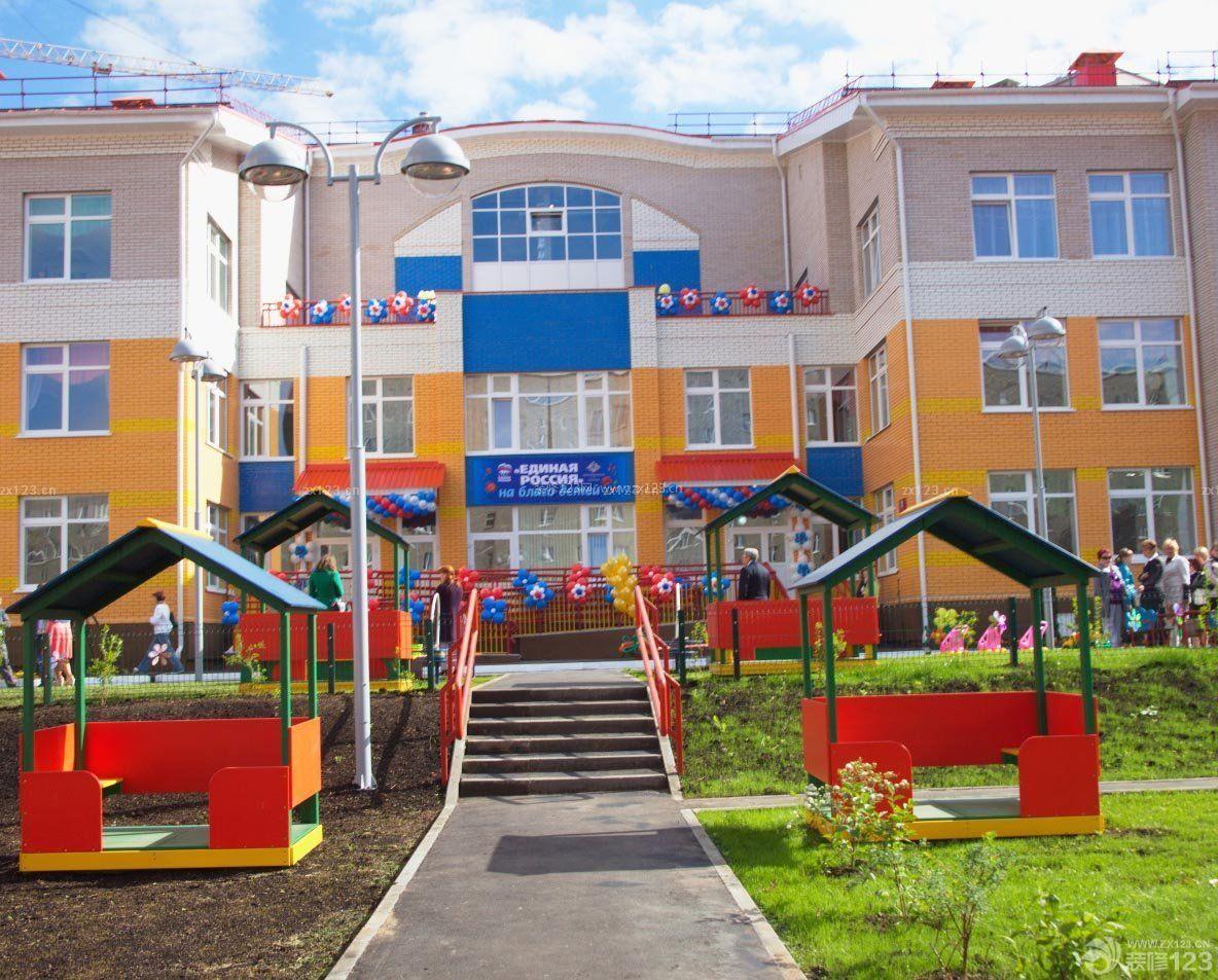 2016国际幼儿园外观设计效果图图片欣赏