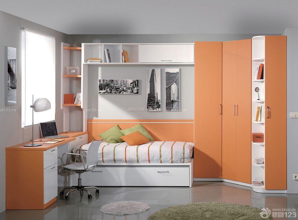 现代卧室衣柜内部设计图