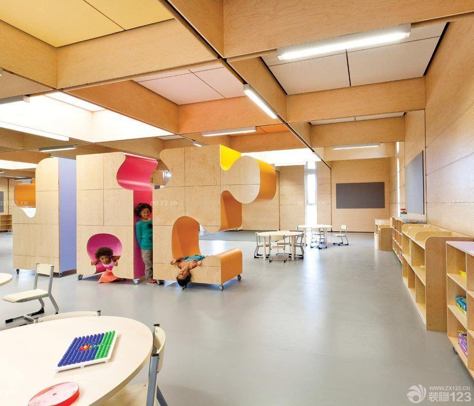幼儿园室内设计装修效果图2016图片