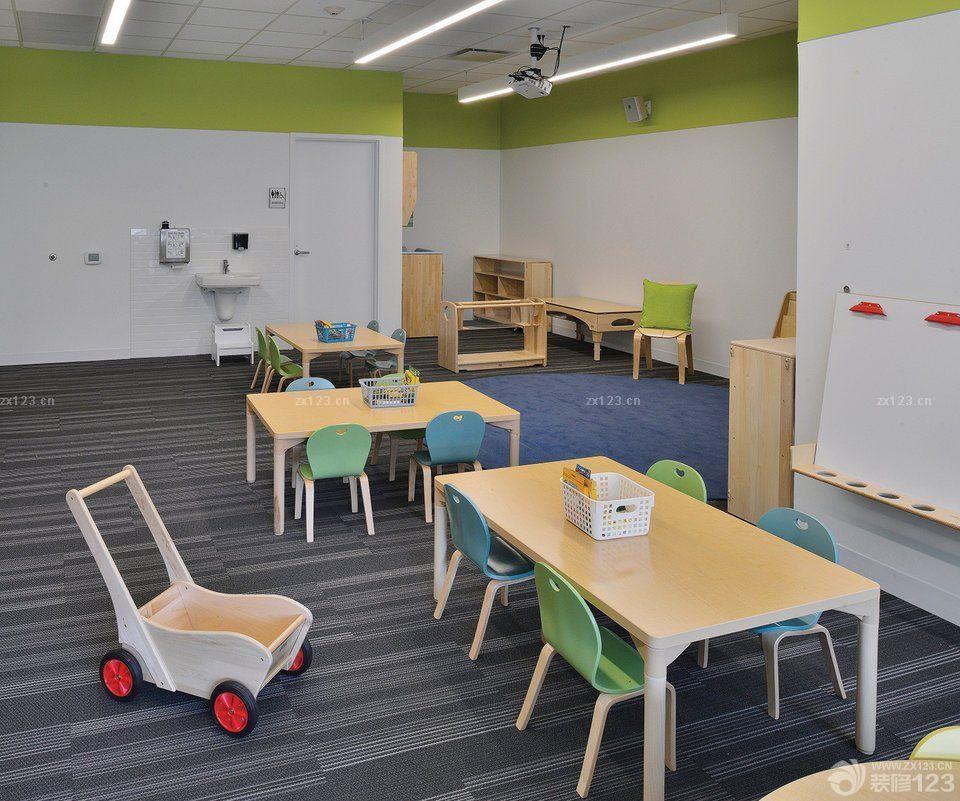 幼儿园教室简单装修效果图大全