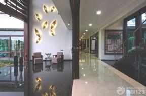 黑色地磚裝潢 東南亞設計