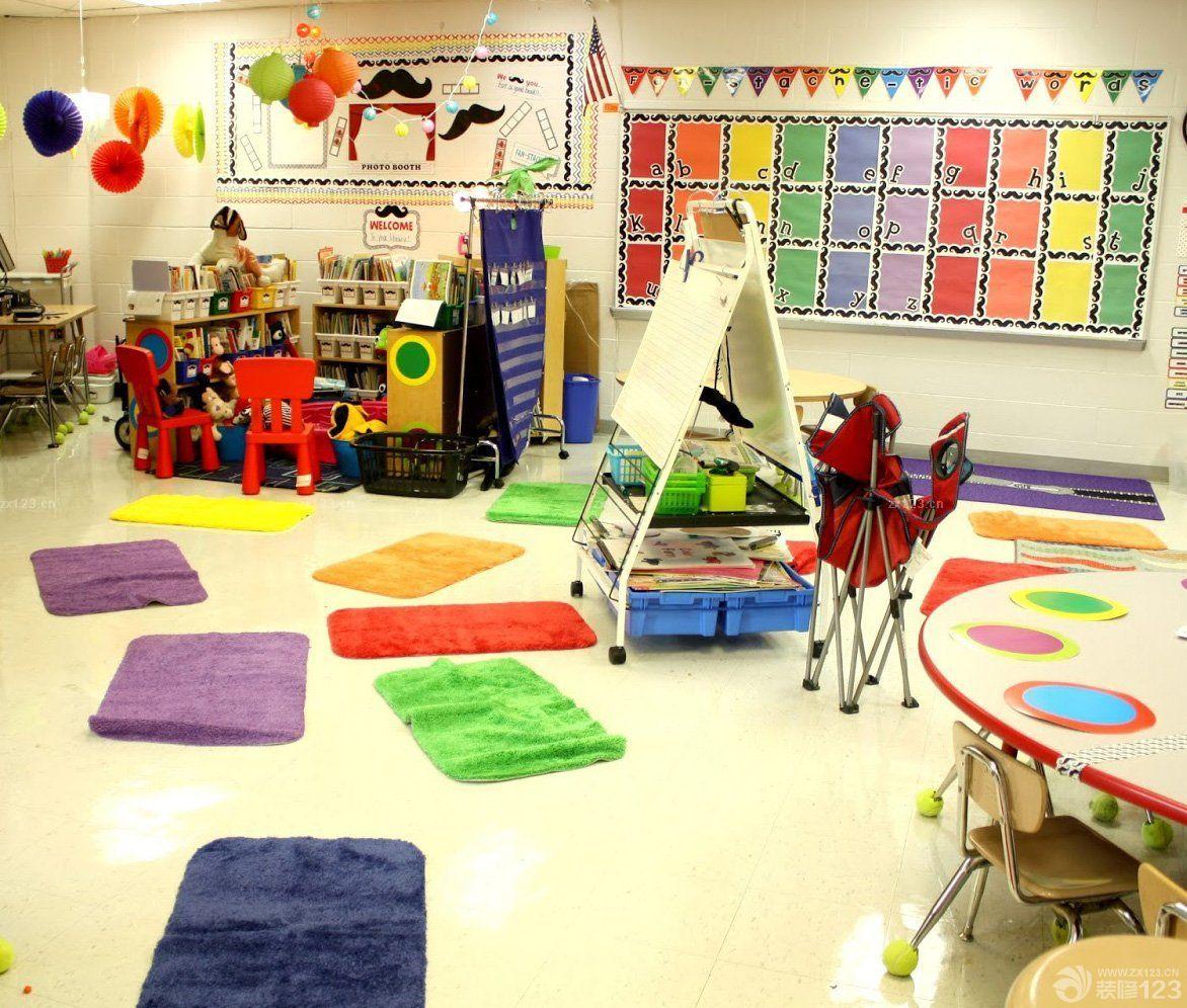 国外幼儿园室内装饰设计效果图片