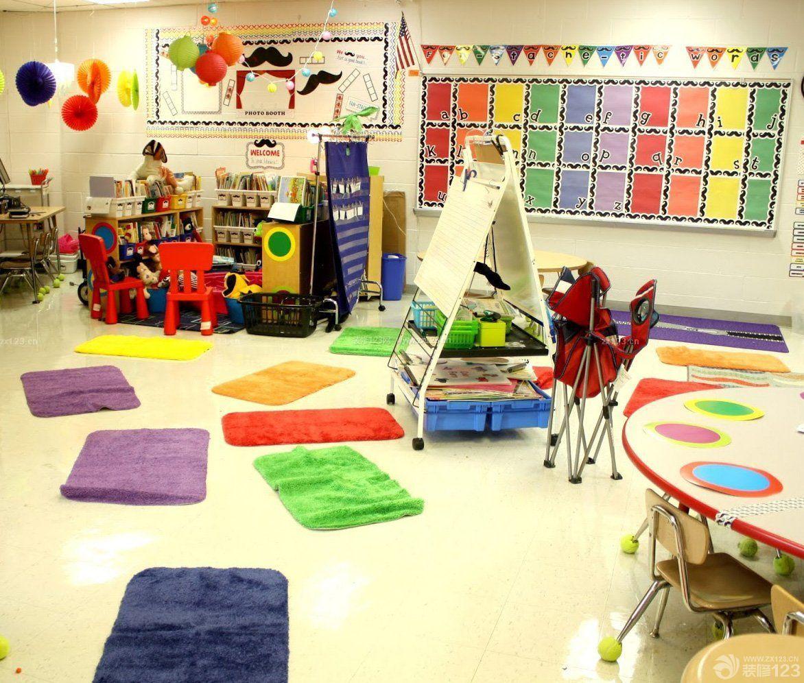 国外幼儿园室内装饰设计效果图片图片