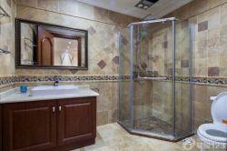 簡歐混搭風格衛生間淋浴房裝修