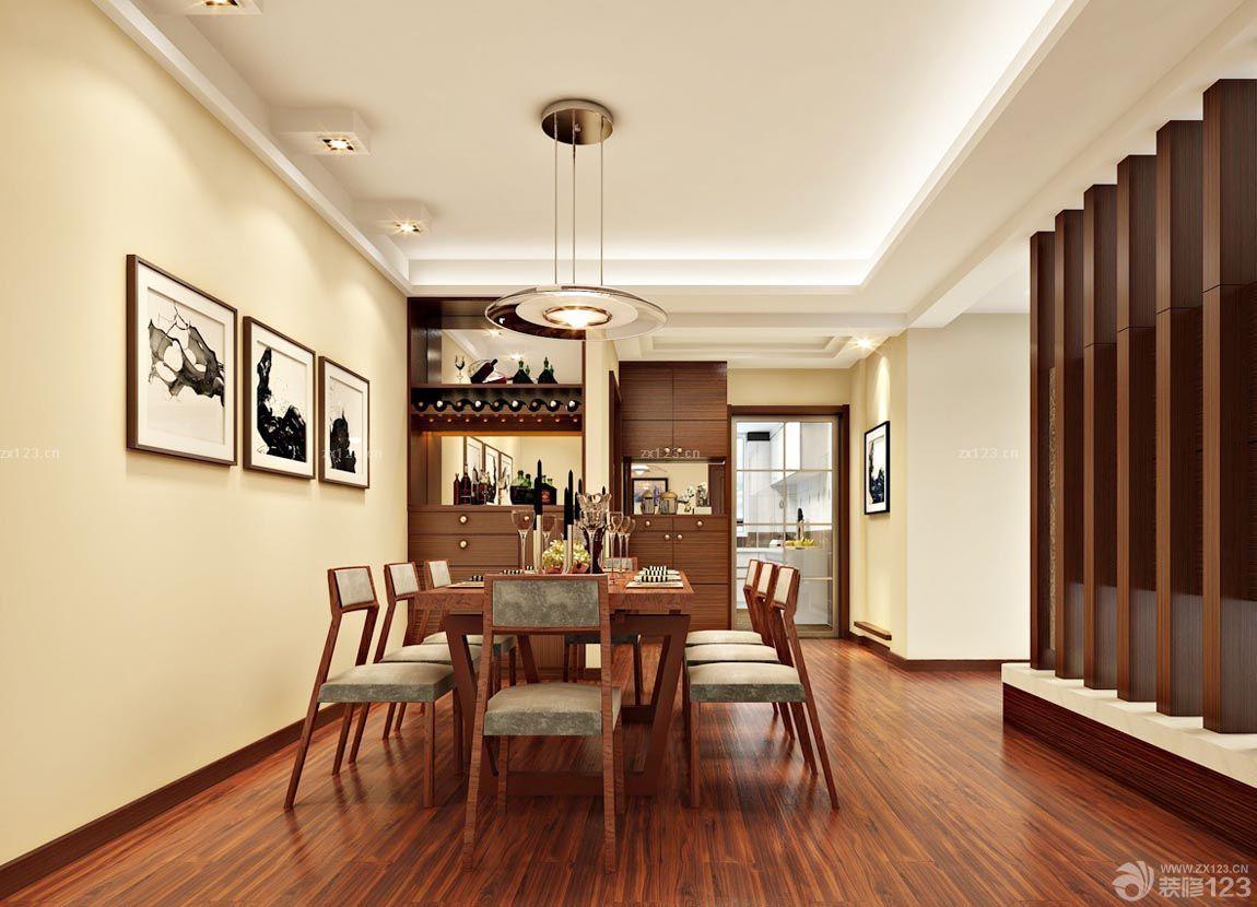 最新中餐厅原木地板装修效果图片