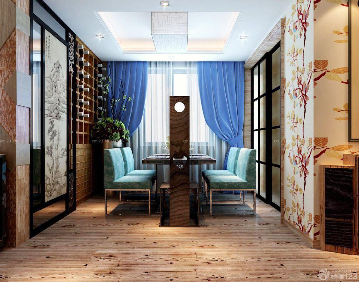 2016中餐厅石膏板吊顶装修效果图片