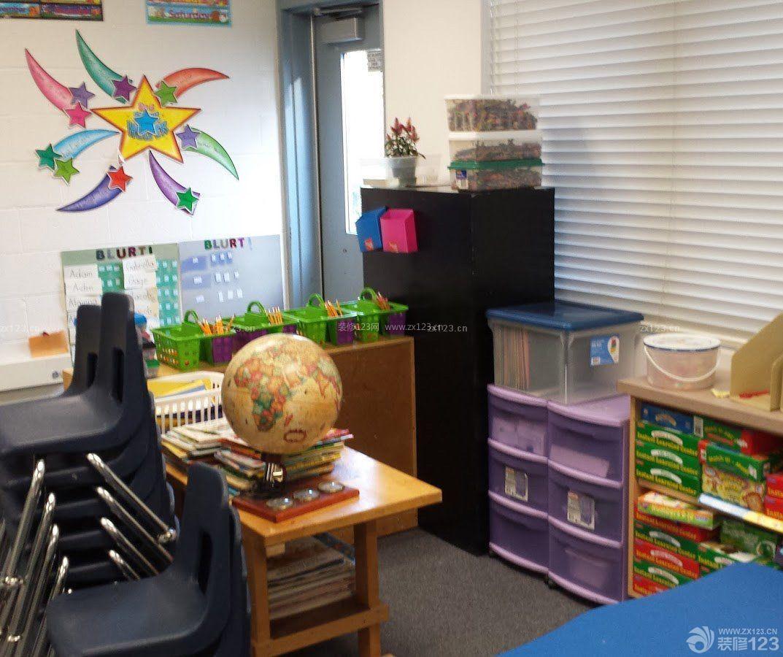 小型国际幼儿园室内装修图片大全