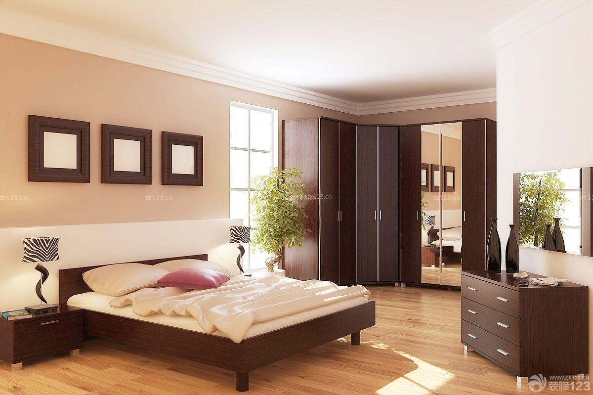 长方形卧室衣柜设计效果图图片