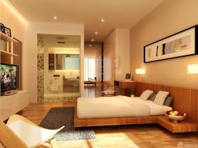 长方形卧室设计图 家装别墅装修图片