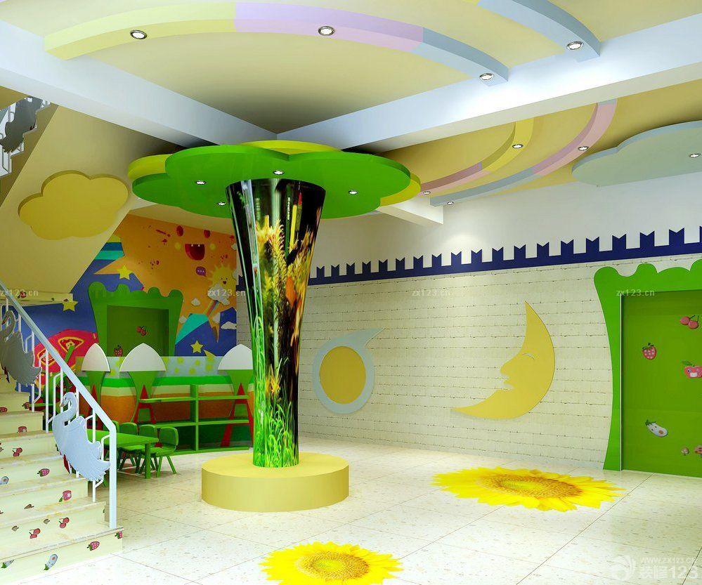 幼儿园大厅室内装饰装修图片