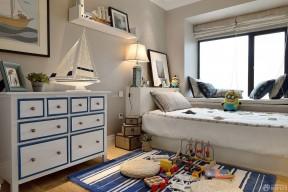 男生卧室装修效果图 地中海混搭风格装修图片