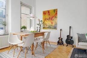 折疊餐桌圖片 北歐風格餐廳
