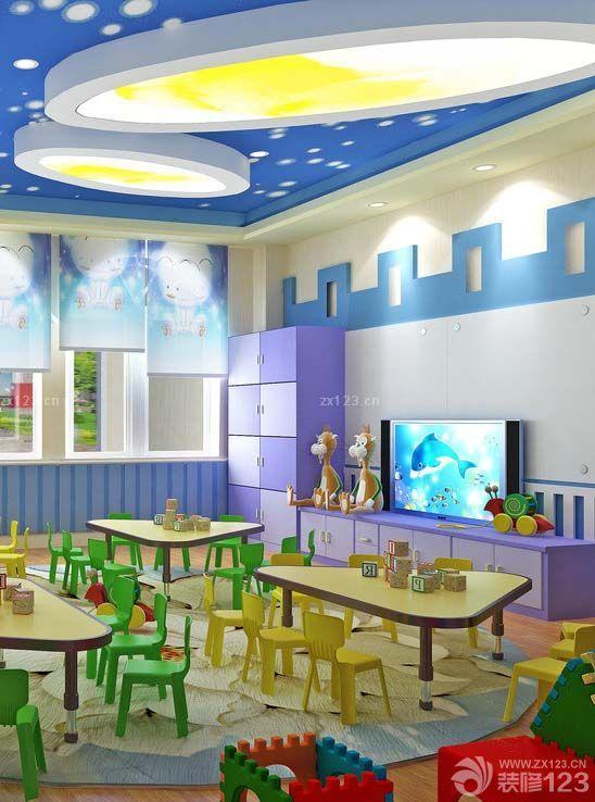 教室室内设计图片大全  首页 工程案例 幼儿园室内设计∣幼儿园整体