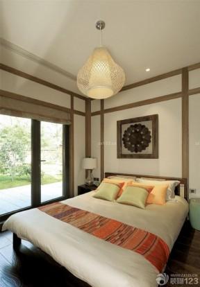 装潢卧室设计 东南亚风格卧室