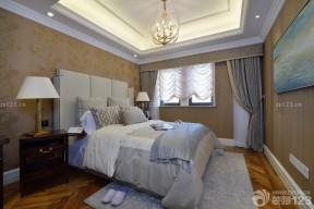 美式卧室装修 现代别墅