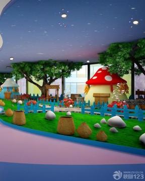 美式幼儿园装修效果图 室内装饰设计