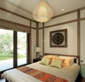 東南亞風格臥室裝潢設計-每日推薦
