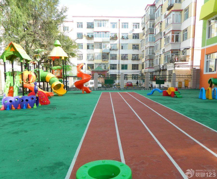 幼兒園室外地面裝修效果圖