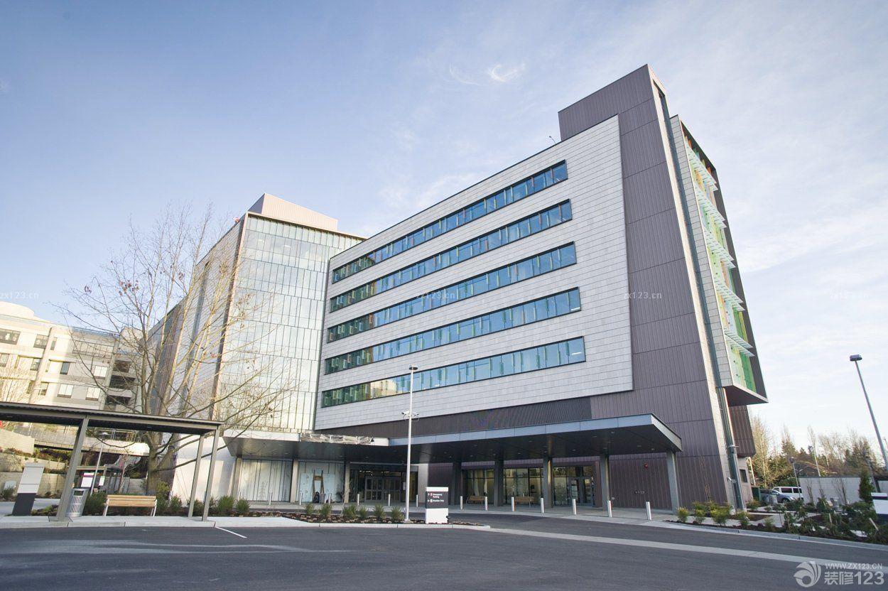 医院外观外墙装修设计效果图
