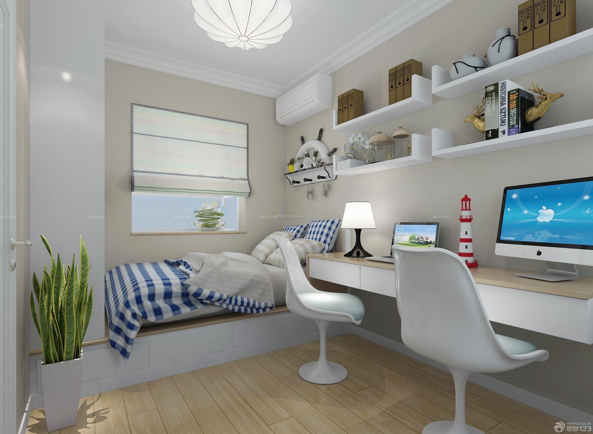 榻榻米卧室窗户设计装修效果图