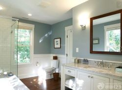 簡約風格衛生間墻面顏色裝修裝飾效果圖