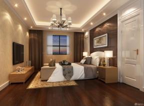 臥室裝修設計圖 雙人床裝修效果圖片