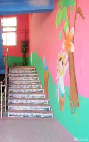 幼儿园手绘墙壁画