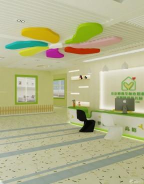 2016国际幼儿园门厅设计装修效果图