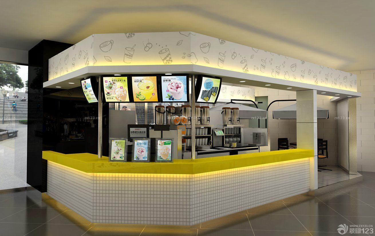 2016店面吧台设计装修图片图片