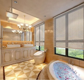 欧式风格家装 浴室设计效果图