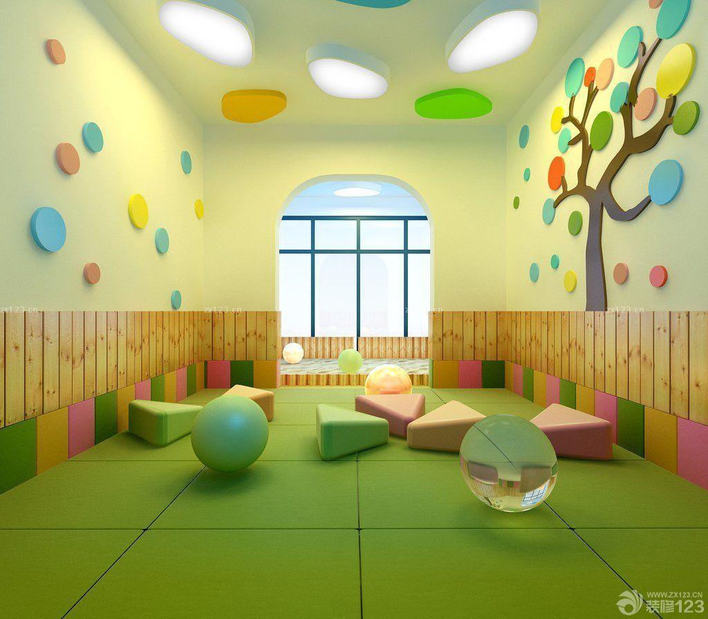 高端幼儿园教室装修设计案例图片