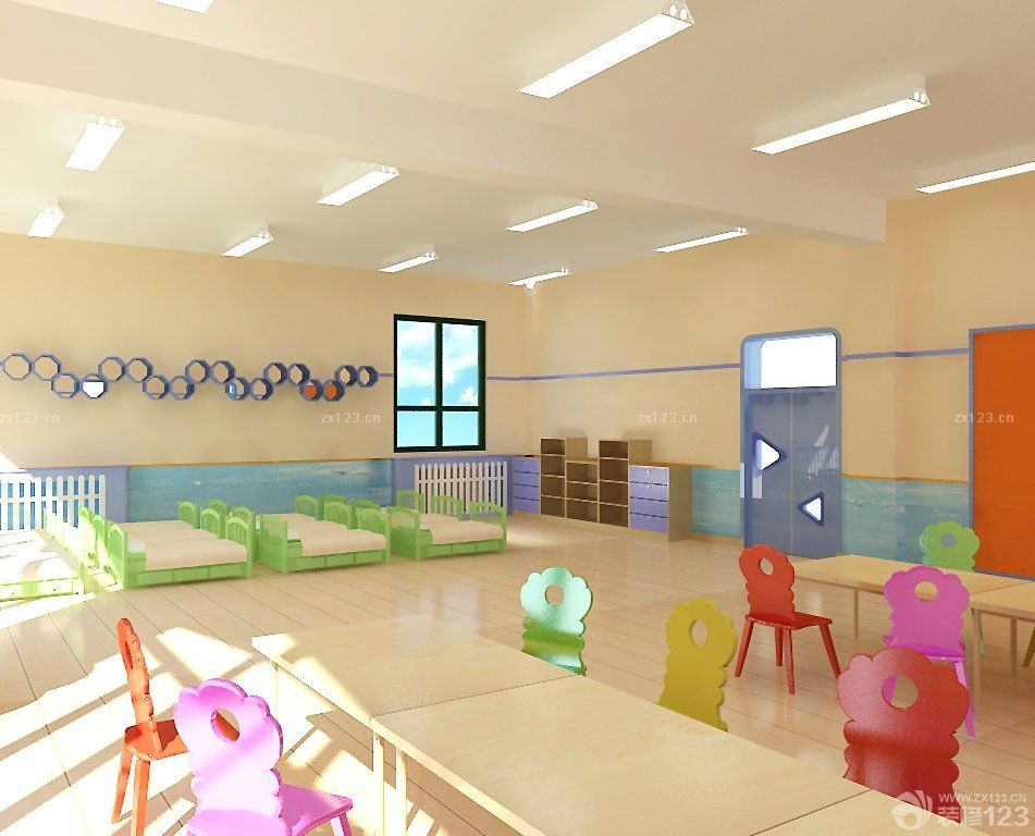 高端幼儿园最新室内装修设计效果图片