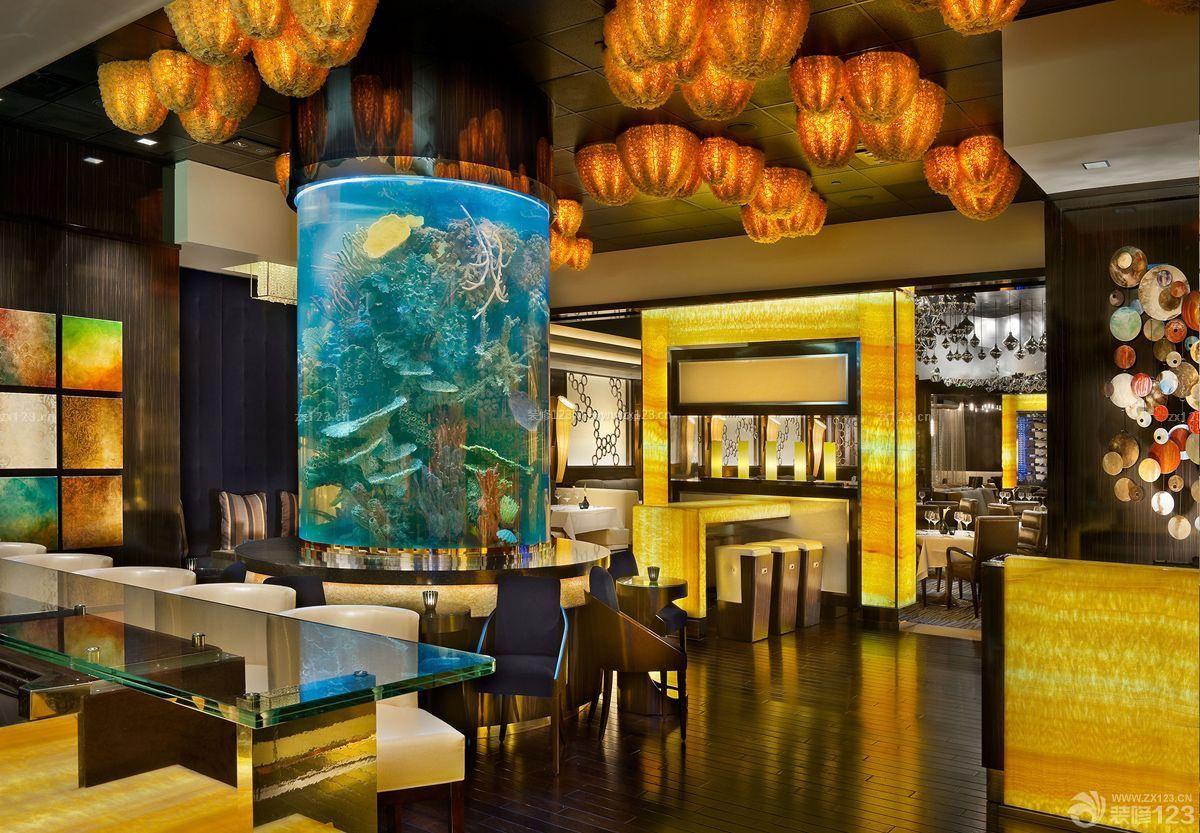 个性现代酒吧吧台设计图片欣赏