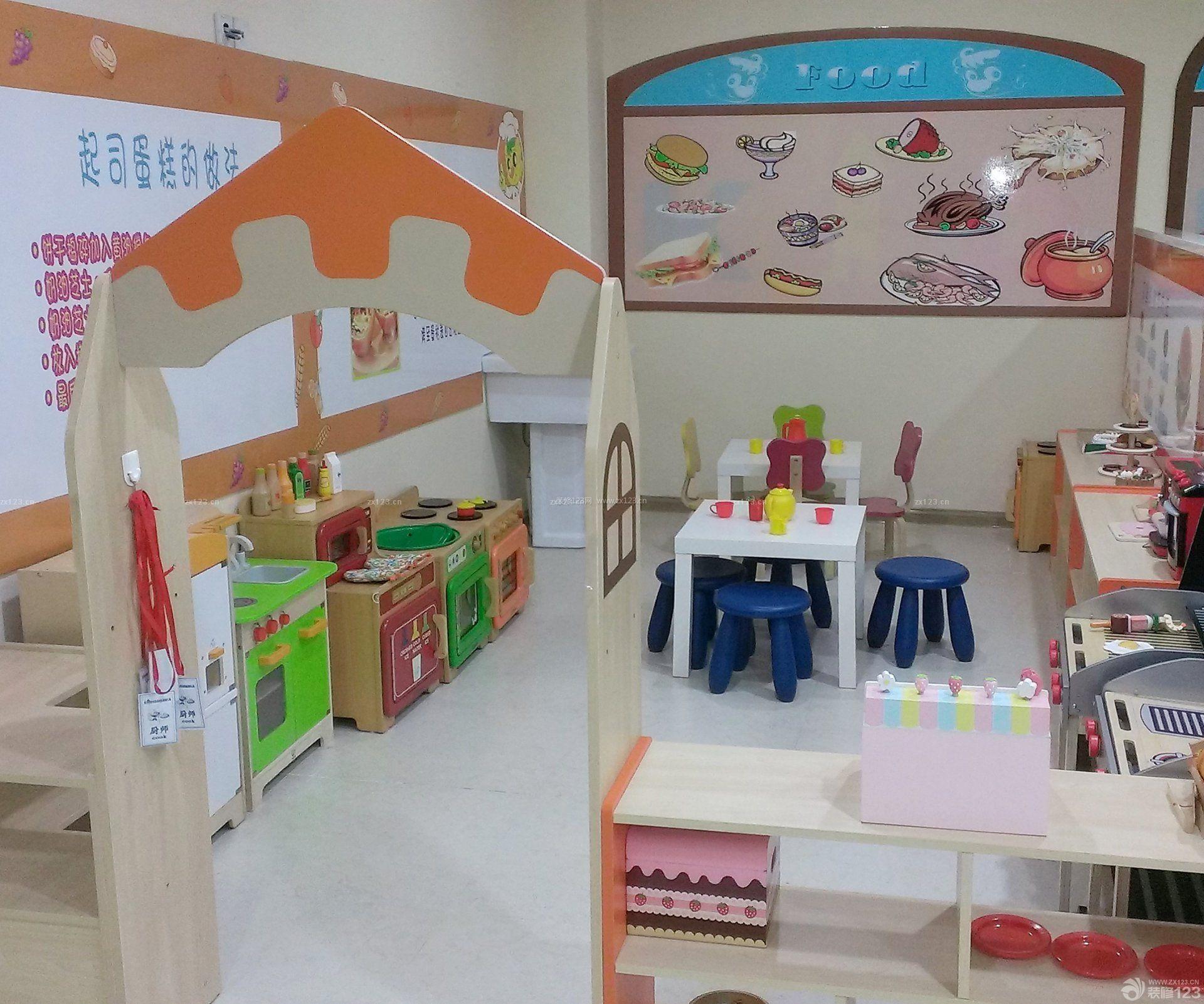 最新幼儿园室内装饰装修效果图片