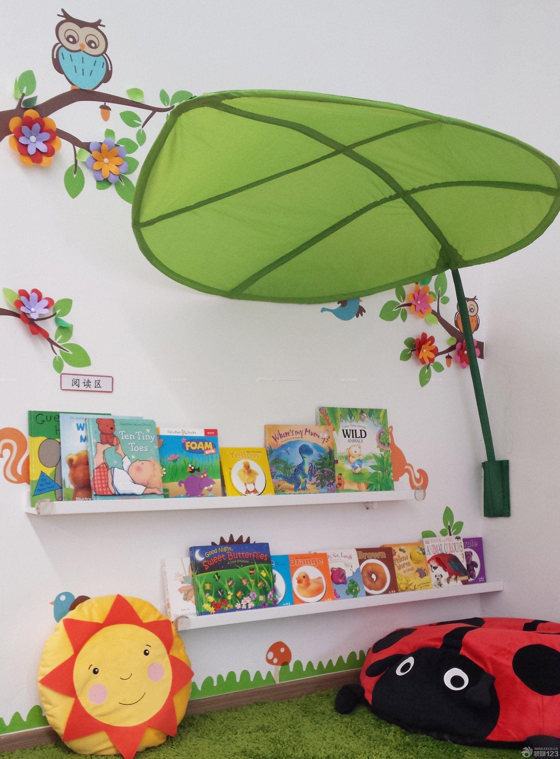 小型幼儿园简约室内装饰效果图片大全