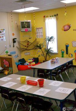 最新幼儿园教室照片墙设计效果图片大全