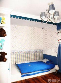 兒童房榻榻米床裝修設計效果圖