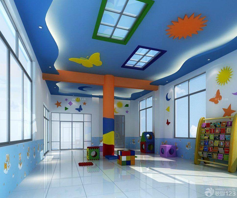 幼儿园寝室吊顶设计效果图片