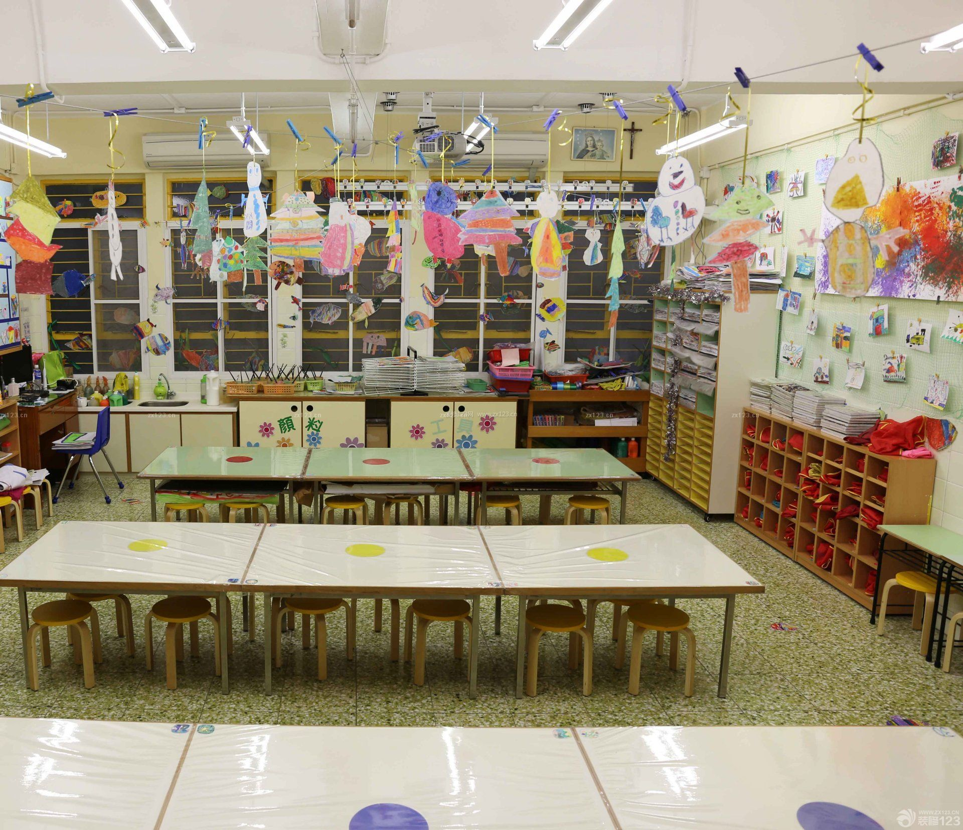 北京幼儿园室内装饰装修效果图片