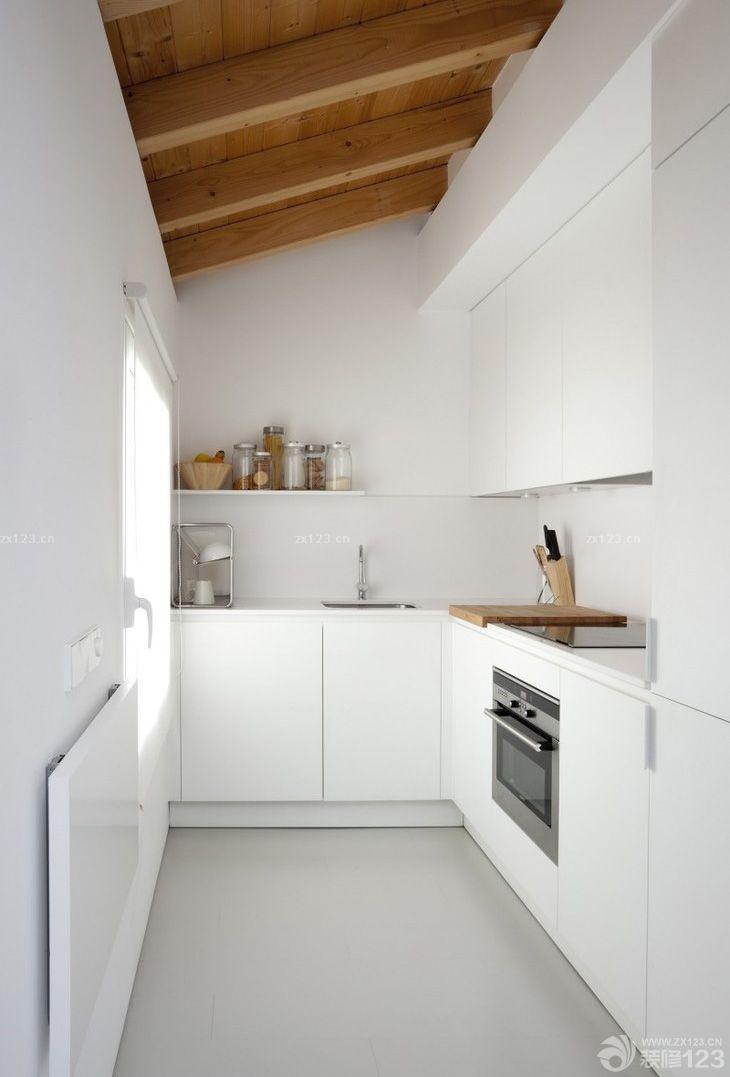 农村小型别墅樱花整体厨房设计图