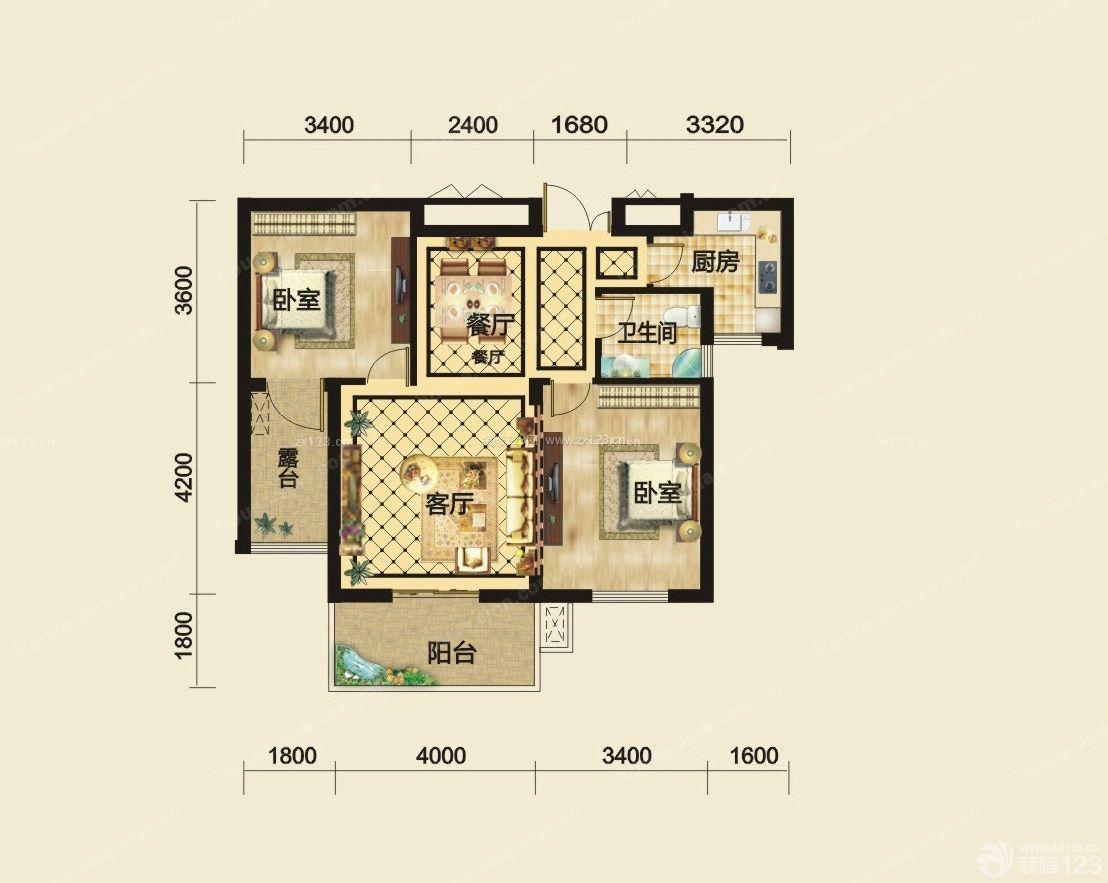 90平方农村别墅地基设计图展示图片