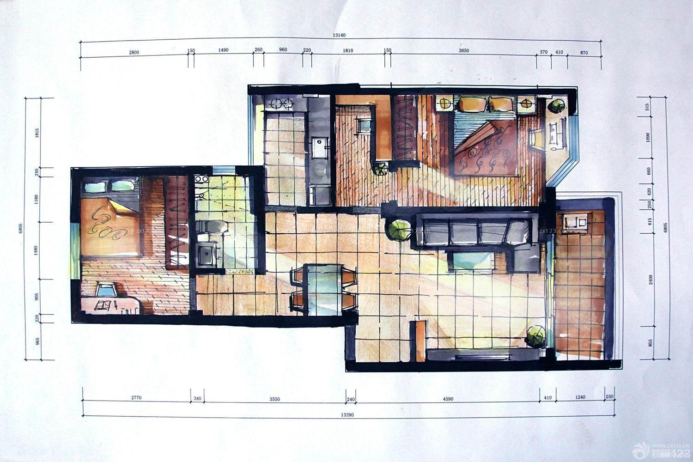 农村厨房设计平面图