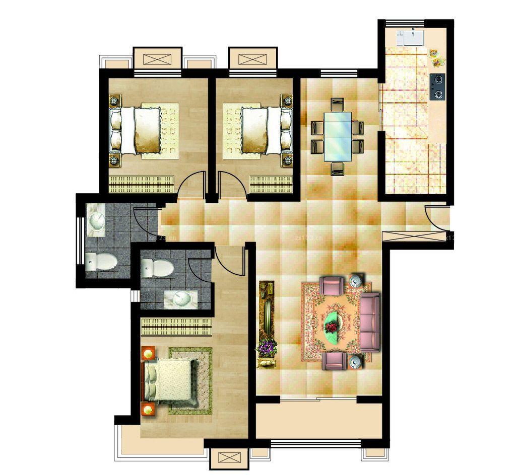 自建房厨房设计平面图