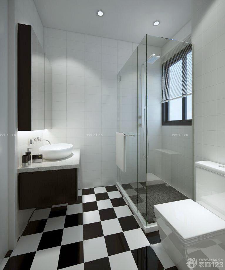 小户型欧式厕所推拉门装修效果图片