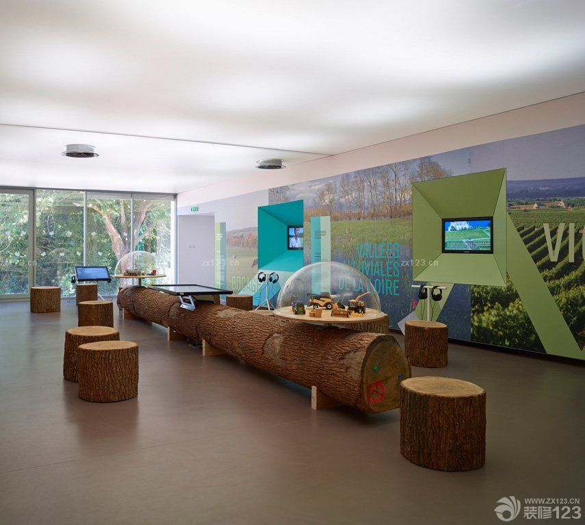 日式幼儿园装修教室环境布置效果图片