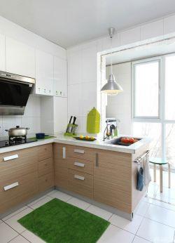 時尚小戶型u型廚房裝修效果圖片