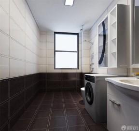 2019厕所简约装修效果图图片