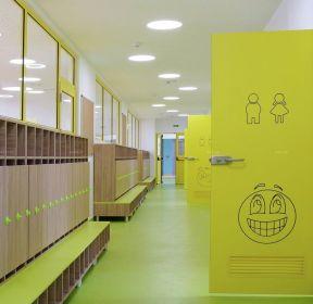 日式幼儿园走廊装修效果图片 -每日推荐