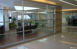 總經理辦公室玻璃隔斷設計圖