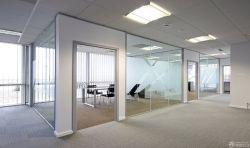 最新辦公室玻璃隔斷設計圖